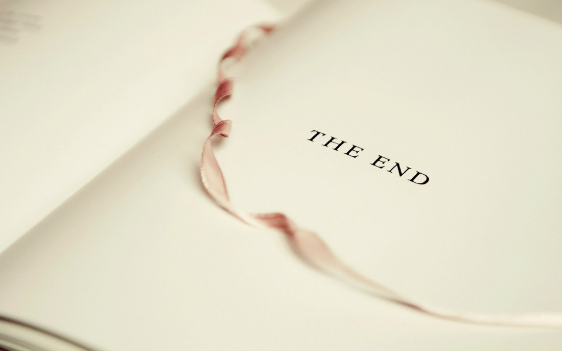 The end 1100