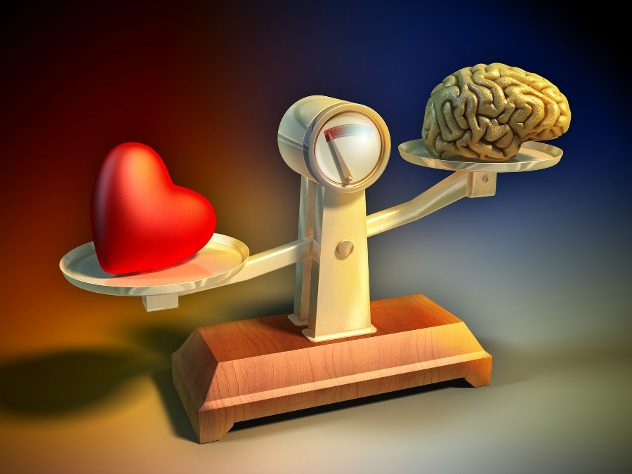 Heart-and-brain-balance